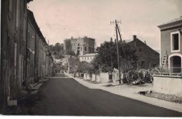"""Suze La Rousse . """" Route De Tullette Et Le Château """" - *** Belle Carte-photo De 1946 *** - Ed. Photo Max - Sonstige Gemeinden"""