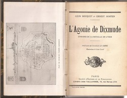 L'agonie De Dixmude, L. Bocquet & E. Hosten (ref 12Alivre) - Guerra 1914-18
