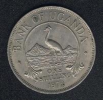 Uganda, 1 Shilling 1972 - Uganda