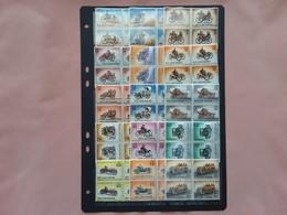 SAN MARINO - Automobili Antiche In Quartina - 15 Valori × 4 = 60 × 0,05 Cad. + Spese Postali - Ungebraucht