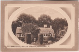 The Fernhouse, Botanic Gardens, Toowoomba, Queensland - Vintage With Message, 1911 - Towoomba / Darling Downs