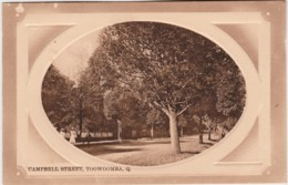 Campbell Street, Toowoomba, Queensland - Vintage With Message, 1911 - Towoomba / Darling Downs