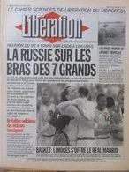 Journal Libération (14 Avril 1993) La Russie - Brutalités Policières - Limoges En Finale - Forêt Tropicale - Hamas - Zeitungen