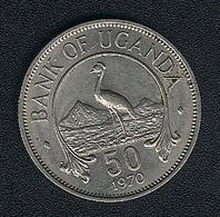 Uganda, 50 Cents 1970, UNC - Uganda