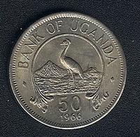 Uganda, 50 Cents 1966, UNC - Uganda