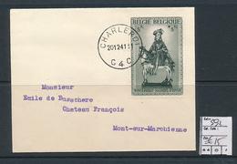 BELGIUM  COB 592 ON COVER - Briefe U. Dokumente