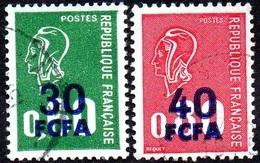 Réunion Obl. N° 429 Et 430 Marianne De Béquet - Usados