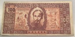 Vietnam ND (1948) 100 Dông P. 28b WITH WATERMARK  (banknote Billet Viet Nam Paper Money Geldschein - Vietnam