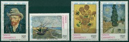 Turquie - 1990 - Yt 2648/2651 - Centenaire De La Mort De Vincent Van Gogh - ** - Unused Stamps