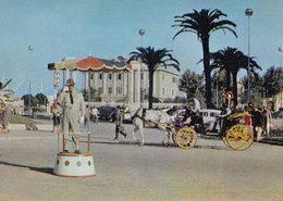 Spain Spanish Living Statue At Malaga Postcard - Spain