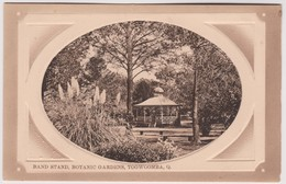 Band Stand, Botanic Gardens, Toowoomba, Queensland - Vintage Card About 1910, Unused - Towoomba / Darling Downs