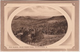 The Range, From Webb Park, Toowoomba, Queensland - Vintage Card About 1910, Unused - Towoomba / Darling Downs