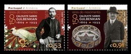 Portugal 2019 Mih. 4484/85 Businessman And Philanthropist Calouste Gulbenkian (joint Issue Portugal-Armenia) MNH ** - Ungebraucht