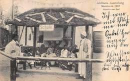 MANNHEIM GERMANY 1907~JUBILÅUMS-AUSSTELLUNG ~ABYSSINISCHES DORF- SCHULE PHOTO POSTCARD 41014 - Mannheim