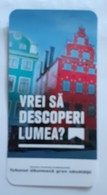 ROMANIA-CIGARETTES  CARD,NOT GOOD SHAPE,0.90 X 0.46 CM - Tabac (objets Liés)