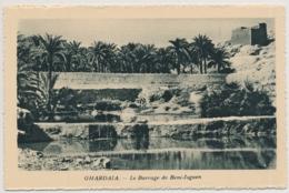 Ghardaia (arabisch غرداية Ghardaya) Le Barrage De Beni-Isguen - Édité Spécial Pour Hôtels Transatlantique - Algérie