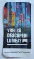 ROMANIA-CIGARETTES  CARD,NOT GOOD SHAPE,0.90 X 0.46 CM - Unclassified