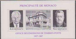 Monaco 1987 Office Des Emissions De Timbres-Poste M/s ** Mnh (43378) - Blokken