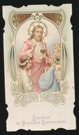SOUVENIR DE PREMIERE COMMUNION  - GENT 1911    -   2 SCANS - Communion