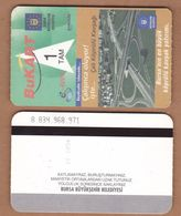 AC - SINGLE RIDING METROCARD, BUSCARD, TRAMCARD BURSA, TURKEY PUBLIC TRANSPORTATION - Transporttickets