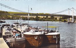 ELBEUF Le Pont Guynemer Sur La Seine ( Péniches ) ( Artaud 23 ) - Elbeuf