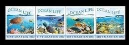 Sint Maarten 2018 Mih. 566/69 Fauna. Ocean Life MNH ** - Niederländische Antillen, Curaçao, Aruba