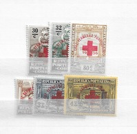 1936 MH Portugal Red Cross - Neufs