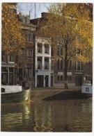 AK95 Amsterdam, Singel Met Kleinste Huisje Van Amsterdam - Amsterdam