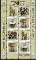Armenia Karabakh Artsakh MNH** 2019 Mushrooms Set Mi 191-94 Zd KB M - Pilze