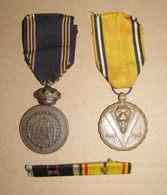 Médailles Du Prisonnier, Commémorative 40-45 Et Barette - Belgium