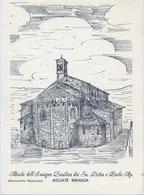 Agliate Brianza - Monumento Nazionale - Abside Dell'insegne Basilica Dei Ss.pietro E Paolo - Formato Grande Non Viaggiat - Milano