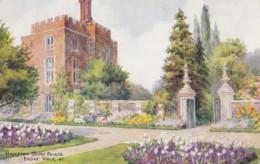 AQ36 Hampton Court Palace, Broad Walk - Art Postcard - London Suburbs