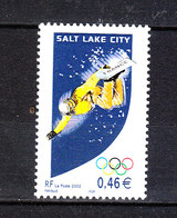 Francia - 2002. Free Style. Fresh, MNH - Winter 2002: Salt Lake City