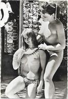 D 83.   ILE DU LEVANT  CARTE PHOTO FEMMES AUX SEINS NUS - Other Municipalities