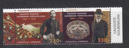 Armenia Armenien MNH** 2019 Joint Issue Portugal Mi 1110-1111 - Armenien