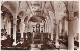AR34 Derby Cathedral - RPPC - Derbyshire
