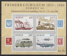 Norway 1980 Norwex '80 M/s ** Mnh (43389) - Blokken & Velletjes