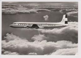 Vintage Rppc KLM K.L.M Royal Dutch Airlines De Vliegende Hollander Douglas Dc-7 Inflight - 1919-1938: Entre Guerres