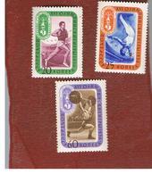 URSS -  SG  2102.2106   -  1957  OLYMPIC GAMES: RUSSIA WINNERS    -   MINT** - 1923-1991 USSR