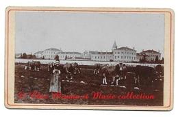 LE PLANTAY 1903 NOTRE DAME DES DOMBES - MOINE ET VACHES - ABBAYE CISTERCIENNE TRAPPISTE MONASTERE - PHOTO 9 X 5.5 CM AIN - Métiers