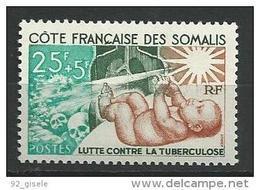 "Cote Somalis YT 324 "" Tuberculose "" 1966 Neuf** - Ungebraucht"