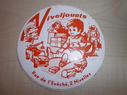 Autocollant Ancien NIVELJOETS    NIVELLES - Vignettes Autocollantes