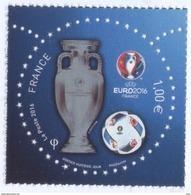 N° 5039 Championnat D'europe 2016 En France, Faciale 1 € - Unused Stamps