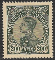 1910 – King Manuel II 200 Réis - 1910 : D.Manuel II