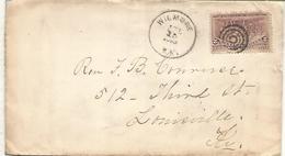ESTADOS UNIDOS USA 1893 CC CON SELLO COLON COLUMBUS EN AMERICA - Cristóbal Colón