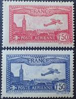 R1615/98 - 1930 - POSTE AERIENNE - AVION SURVOLANT MARSEILLE - N°5 à 6 NEUFS** - Cote : 94,00 € - 1927-1959 Nuevos