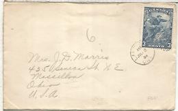 CANADA CC 1934 SELLO JACQUES CARTIER EXPLORADOR - Exploradores