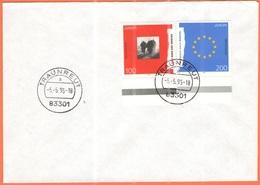 GERMANIA - GERMANY - Deutschland - ALLEMAGNE - 1995 - Europa Cept - FDC - Traunreut - Europa-CEPT