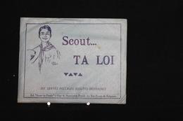 """AN - 214/Scoutisme -""""Scout...Ta Loi..."""" Avec Envel Ed. Scout Du Pontia Huy & Associations Royale Des Boys-Scouts Belges - Scoutisme"""