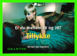 AFFICHE DE CINÉMA - FÉLICITATIONS - TILLYKKE - GO-CARD 2001 No 5576 - - Affiches Sur Carte